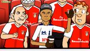 Dele Alli Arsenal crowd fan