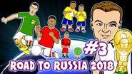 Road to Russia 2018! 3 Coleman Leg Break, Vardy eye-liner, Hernandez Ronaldo Records! & MORE!