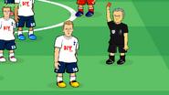 Jose Mourinho referee Kane Eriksen