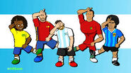 Messi marcelo ramos ronaldo maradona messi