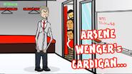 Wenger cardigan Giroud Sanchez Ospina