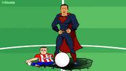 Super Ronaldo Griezmann crushed