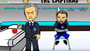Eva Mourinho apple tied