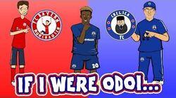 🔴IF I WERE ODOI...🔵(Callum Hudson-Odoi Song Parody Bayern Munich Transfer)