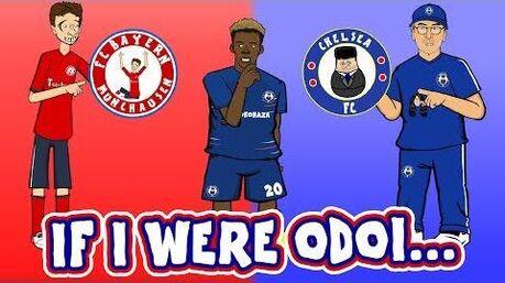 🔴IF_I_WERE_ODOI...🔵(Callum_Hudson-Odoi_Song_Parody_Bayern_Munich_Transfer)