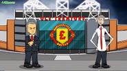 Wenger Mourinho Old Trafford