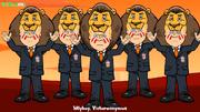 Ronald Koeman Southampton lion Wanyama.png