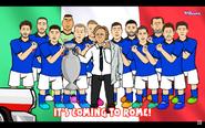 Italy win euro2020 2