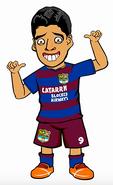 Suarez draw my life