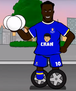 Lukaku upon wheels