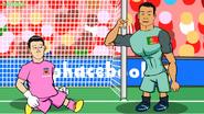 Ronaldo vs Croatie