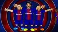 Coutinho Messi Suarez Dembele