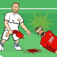 Ramos vs salah arm