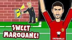 💈SWEET MAROUANE! Mourinho Hates Water Bottles!💈 (Man United 1-0 Young Boys 2018 Goals Highlights)