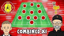 1️⃣1️⃣ MAN UTD vs LIVERPOOL Combined XI! 1️⃣1️⃣