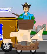 David Silva ship