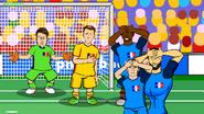 France Romania Pogba Griezmann Giroud Chiricheș Tătărușanu