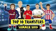 ✍️Top 10 Done Deals 2019 - Summer!✍️ (Griezmann, Felix, Hazard, De Ligt, Coutinho and more!)