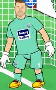Wba goalkeeper