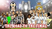 🛣️⚽THE ROAD TO CARDIFF - 2017 CHAMPIONS LEAGUE FINAL!⚽🛣️ Juventus vs Real Madrid Preview