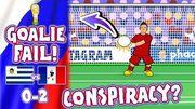 🇺🇾_URUGUAY_vs_FRANCE_🇫🇷_CONSPIRACY?_Muslera_howler!(0-2_World_Cup_Goals_Highlights_Goalkeeper)