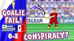 🇺🇾 URUGUAY vs FRANCE 🇫🇷 CONSPIRACY? Muslera howler!(0-2 World Cup Goals Highlights Goalkeeper)