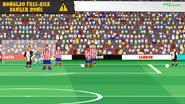 Dybala free kick atletico 2