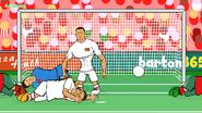 Ronaldo vs Maroc