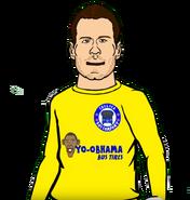 Begovic in Chelsea FC kit