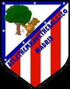 Atletico Madrid old logo