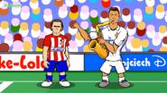 Griezmann Ronaldo saxophone
