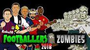 💀FOOTBALLERS vs ZOMBIES 2018💀 Halloween Special (Messi, Ronaldo, Zlatan, Salah, Neymar and more!)