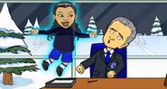 Eva ghost Mourinho