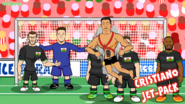 Ronaldo vs Pays de Galles