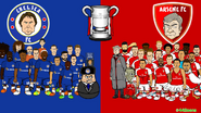 Chelsea X Arsenal montage