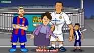 Messi Cristiano Ronaldo mom Junior