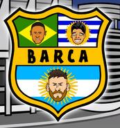 Barca new logo