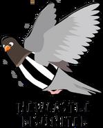 Newcastle logo pigeon