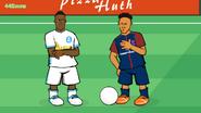 Bouna Sarr vs Neymar