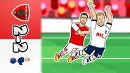 🔴2-2! Arsenal vs Spurs⚪ Feat