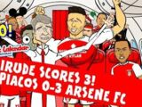 Giroud Hat-trick Song (Olympiacos 0-3 Arsenal)