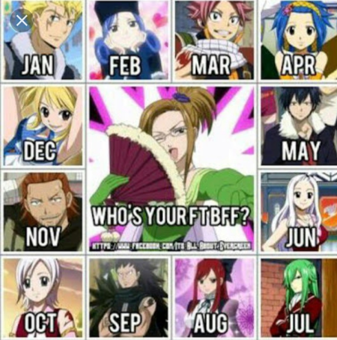 Your Fairy Tail BFF