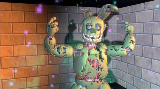 Funny animation - Springtrap Gentleman [FNAF SFM]