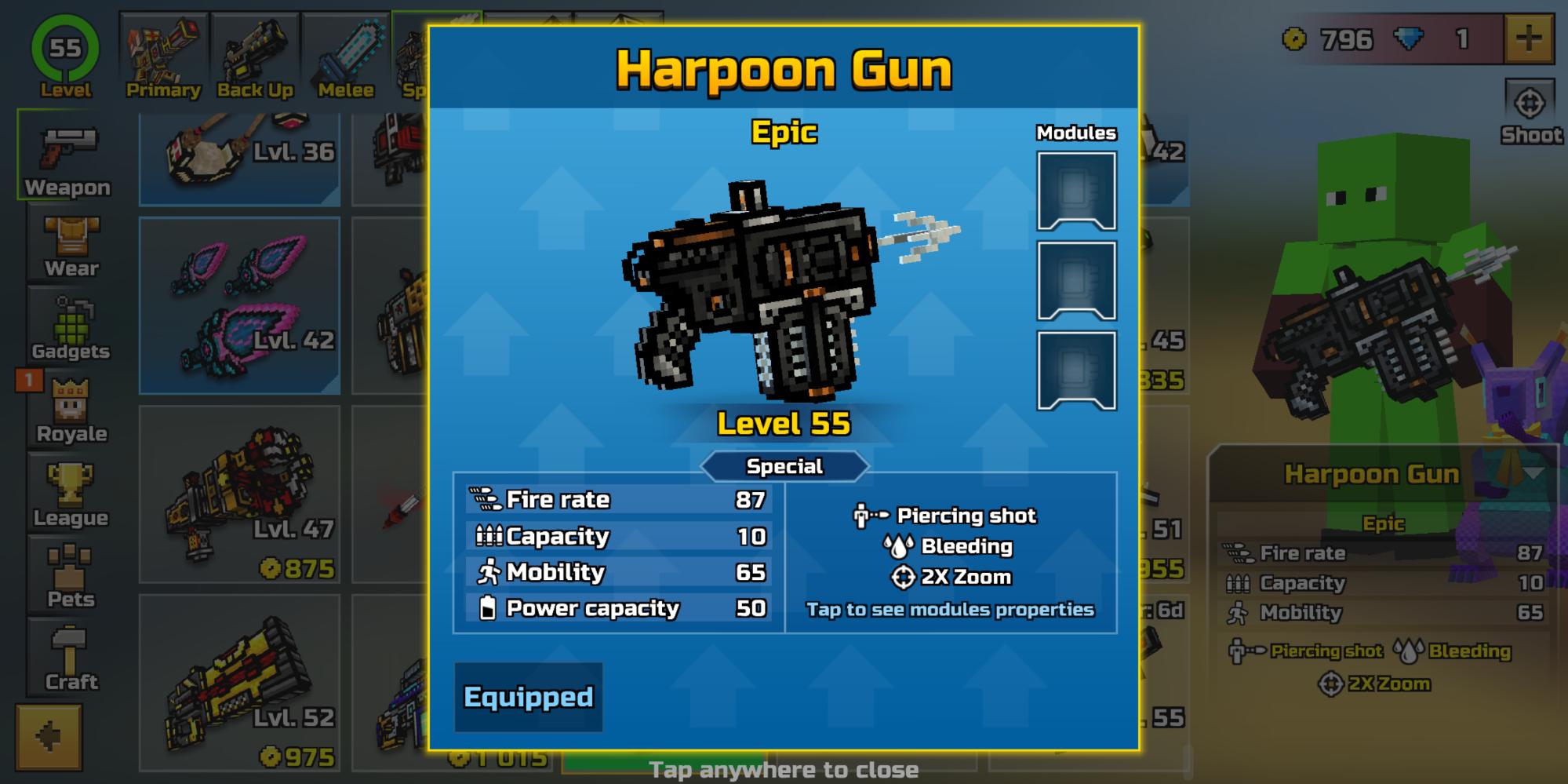Harpoon Gun is absolutely insane! 🔥🔥