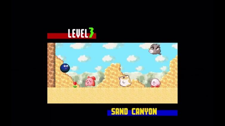 How the sand canyon intro should have been