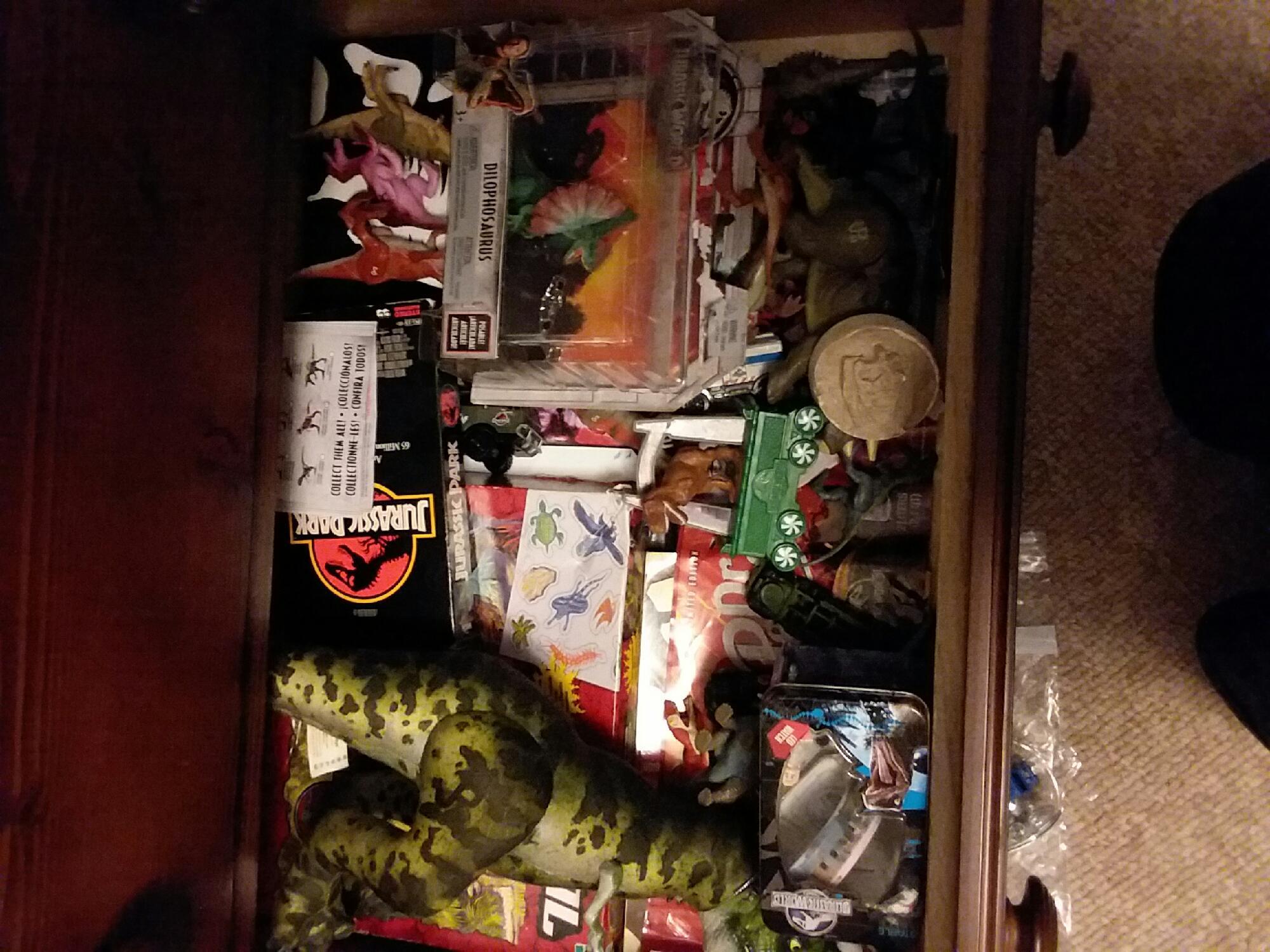 My Jurassic park/world collection.
