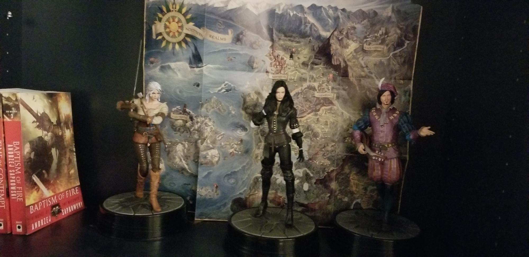 Witcher Statues