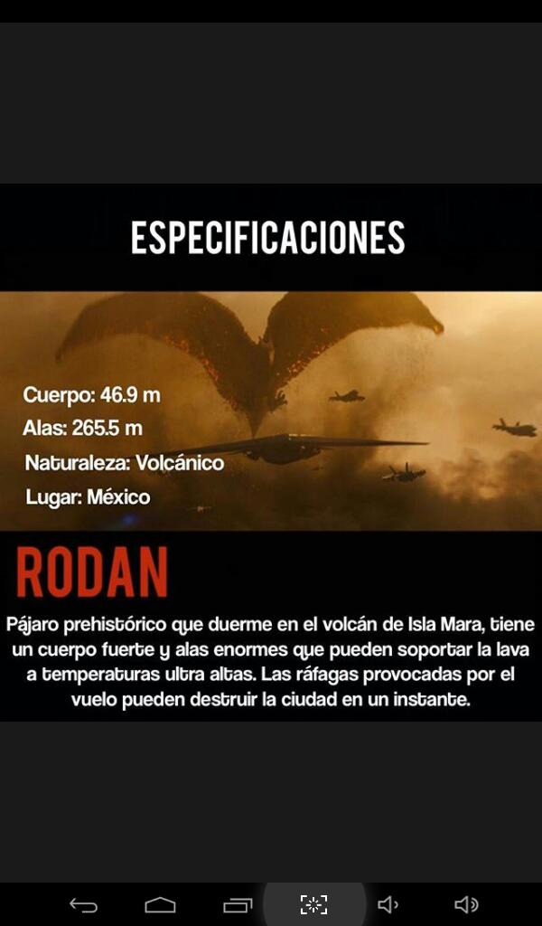Información de Rodan