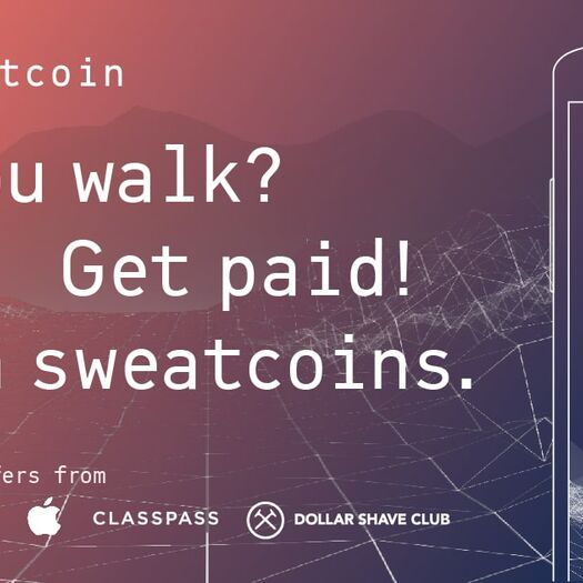 Sweatcoin: it pays to walk!