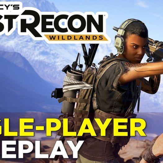 23 Minutes of GHOST RECON: WILDLANDS Open World Gameplay